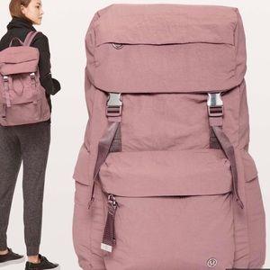 Barely uses lululemon rucksack backpack
